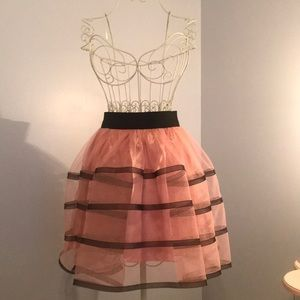 Betsey Johnson Light Pink Tulle Skirt